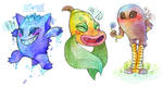 (251PC) Gengar/Weepinbell/Hitmonlee by Witchin