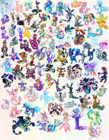 RETIRED | Points/$ | ADOPT |PokeFusions by Witchin