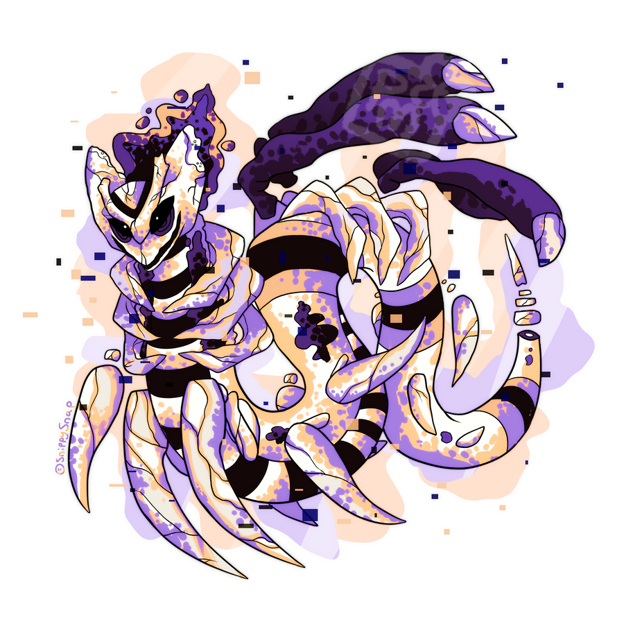 MissingNo PokeFusion for SnippySnap by Witchin