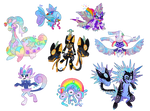 CLOSED | OTA Holographic Pokemon Batch