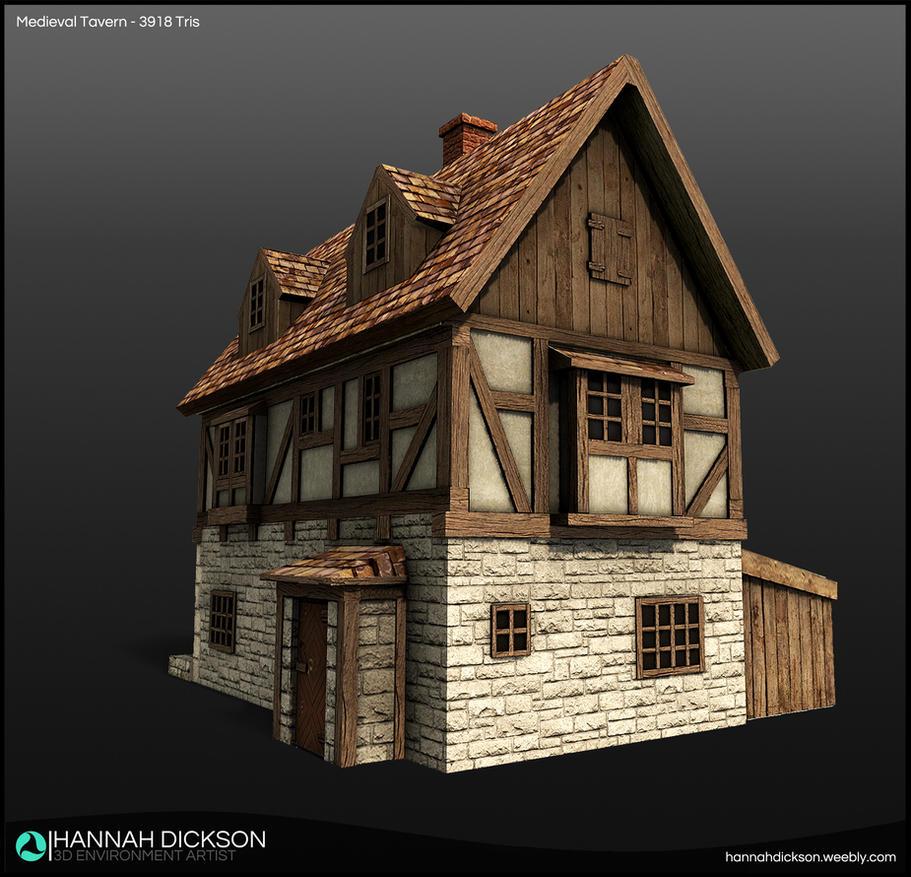 Medieval Tavern By HannahDickson3D On DeviantArt