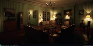 1940s Paris Apartment - UE4