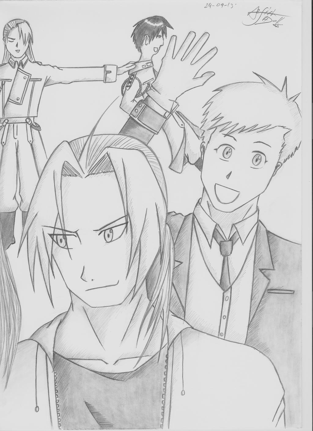 Fullmetal Alchemist brotherhood Ending by Arsiekdhol on DeviantArt