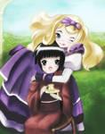 Yune and Aluce - fan-art