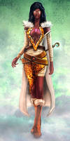 Female wizard of Divine Essence mage Guild