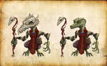 Concept Kobold cultist of dragon's fire