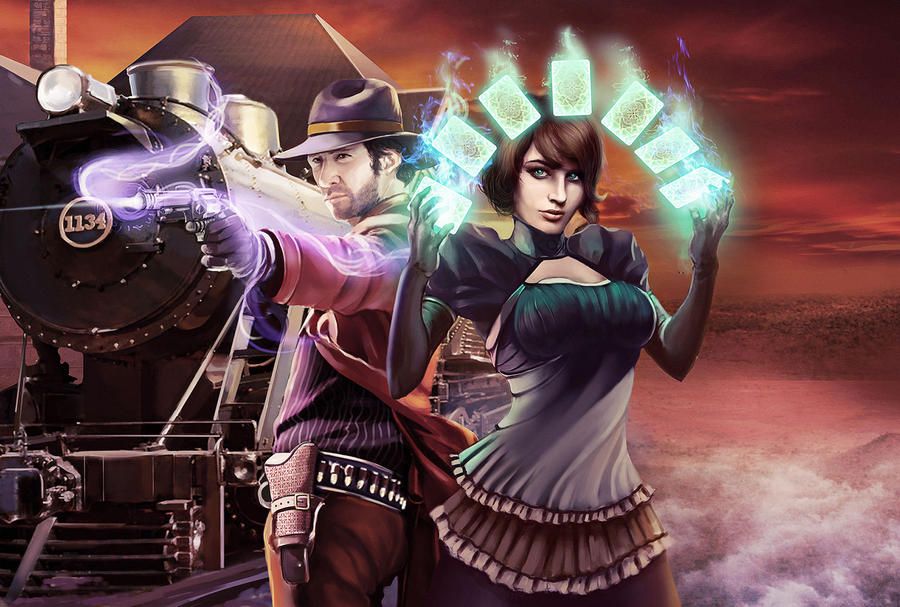 Cover for Deadlands Reloaded: Aces and Sixes by Keleus