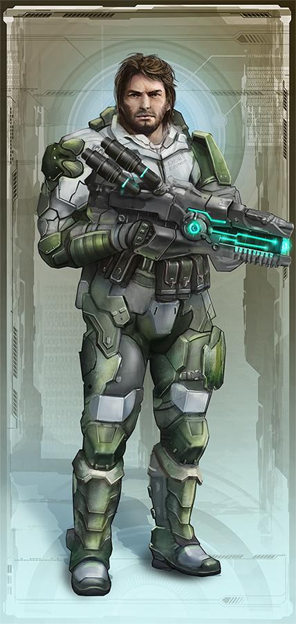 Mercenary EotV Character by Keleus