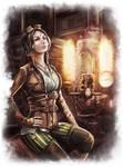 Steampunk Girl by Igor-Esaulov