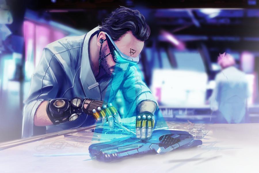 Maintenance EotV Art by Igor-Esaulov