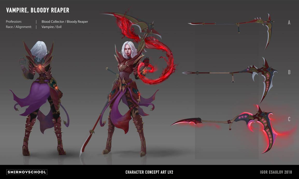Vampire Bloody Reaper Concept