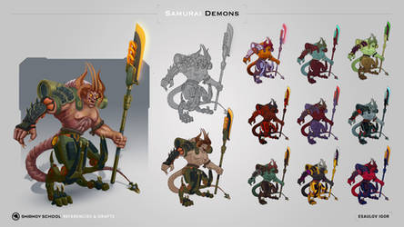 Brute Samurai Demon