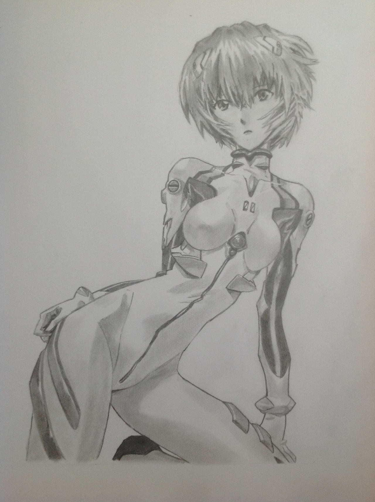Ayanami Rei by Evangelionaire