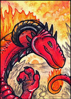 ACEO - Dragarta by jrtracey