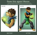 Meme: Before and After