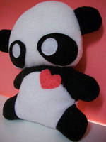 panda plush by aprikotclothing