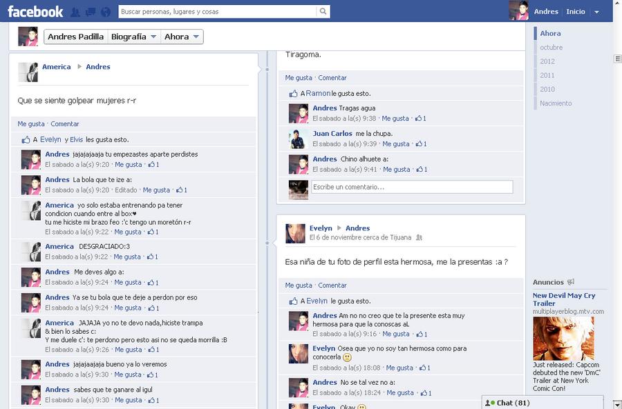 Un rato en Facebook peleando XD by AndresTheWolf