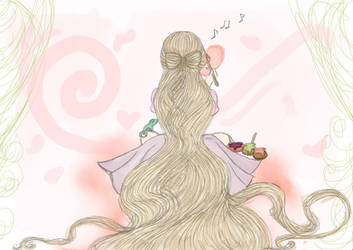 That's a lot of hair... by MusikPrinzessin