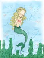 A petite mermaid... by MusikPrinzessin