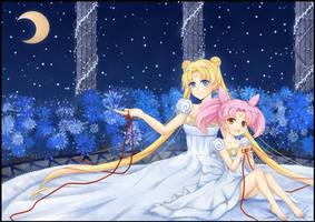 Sailor Moon by Lyra-Kotto