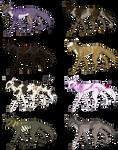 Batch Adopt4 (5/8 OPEN) by Sheona-Fayls