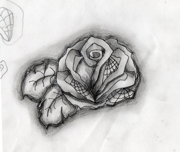 rose tattoo sketches