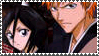 Rukia and Ichigo Stamp by sakashihidaka