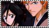 Rukia and Ichigo Stamp by sakashihidaka