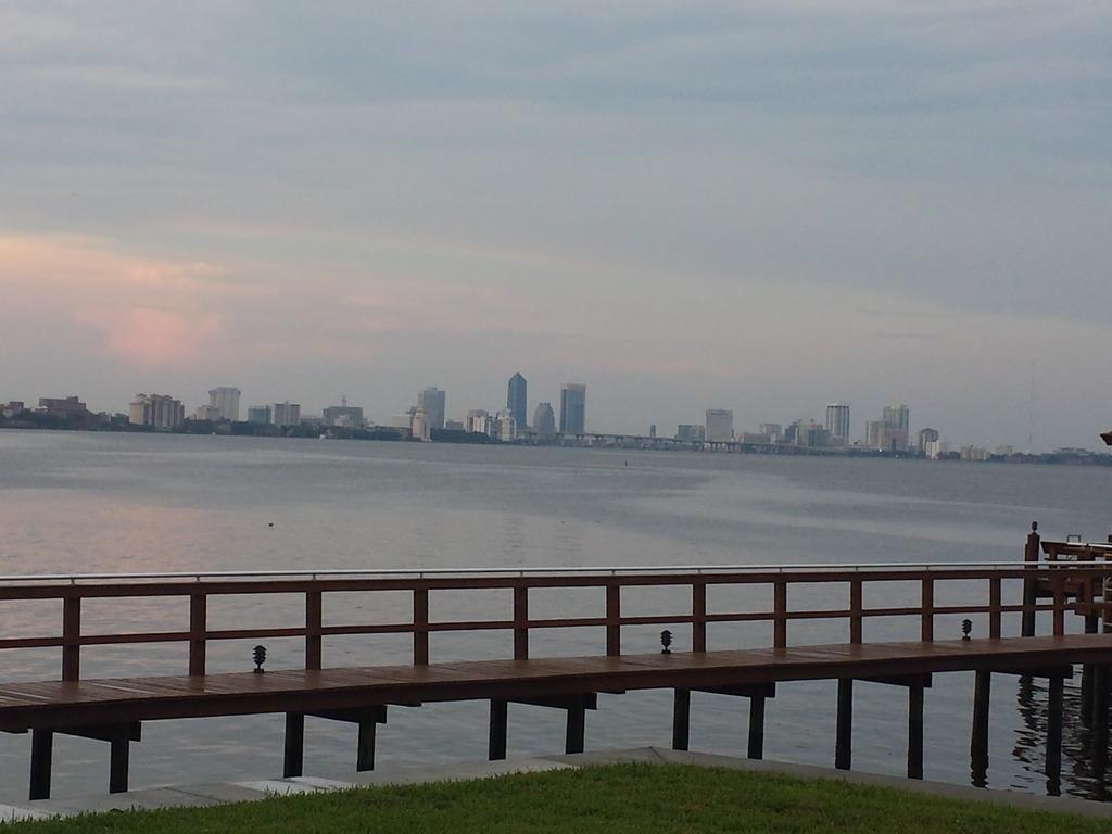 Jacksonville Skyline by ShadowWolves83