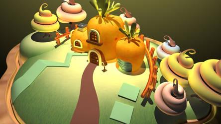 Ruki's house 2 by Artkeyhoon