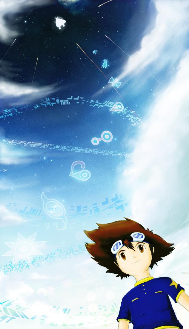 Digimon, Memorial Odaiba Day. 2012 by ephemeralsound
