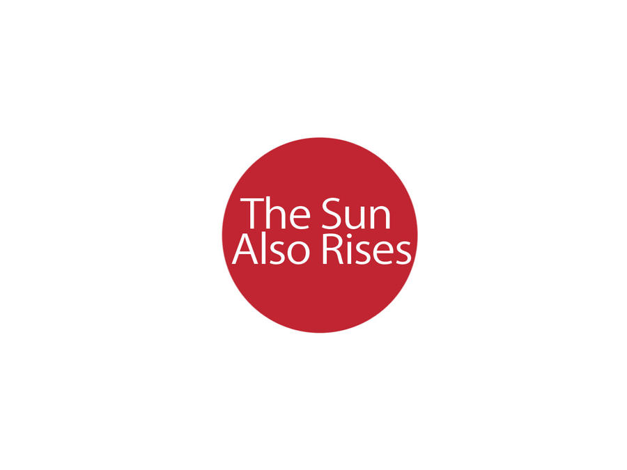 An analysis of the sun also rises appreciation
