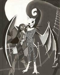 Gargoyles Nightmare by ShinigamiDuoLover