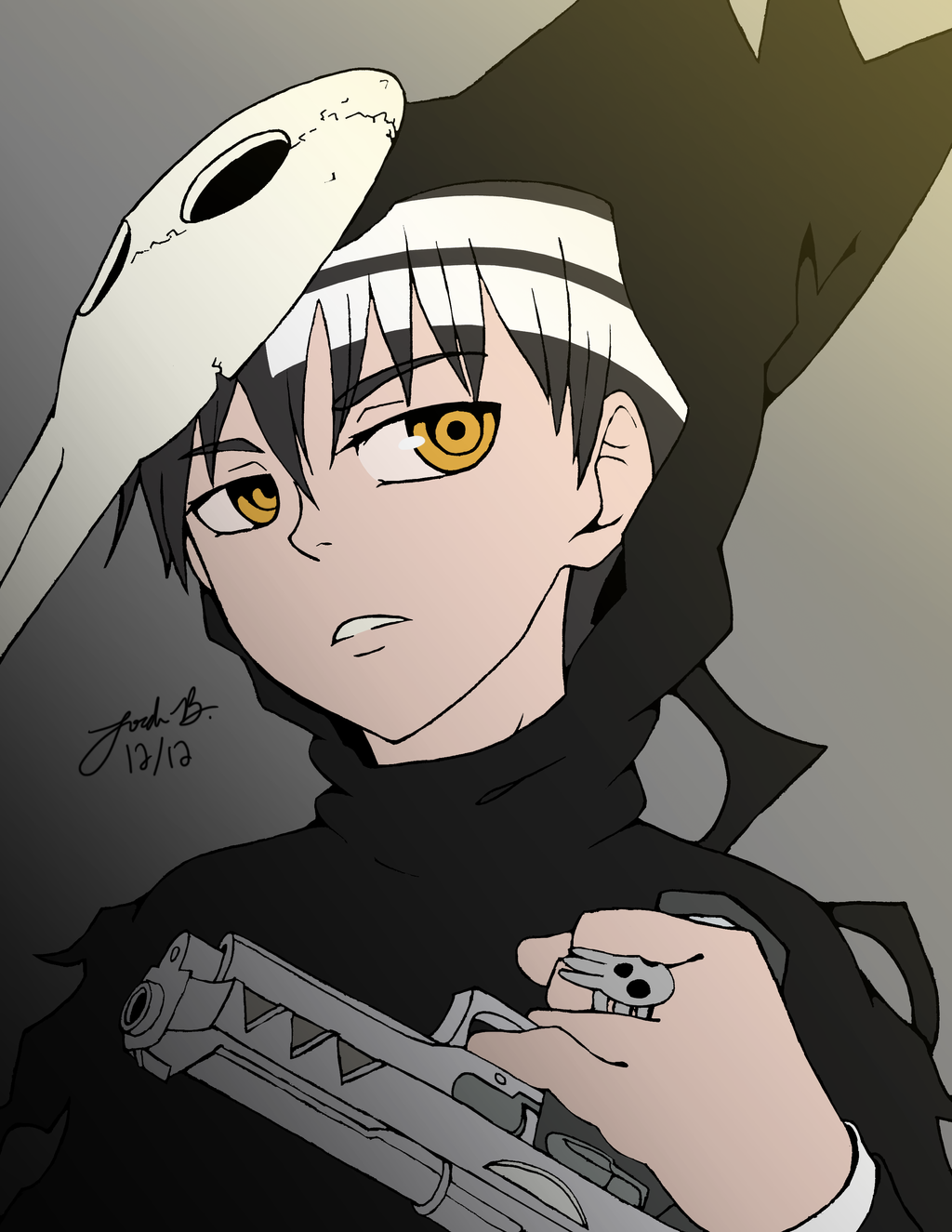 Death The Kid Base Colors By Cisol On Deviantart