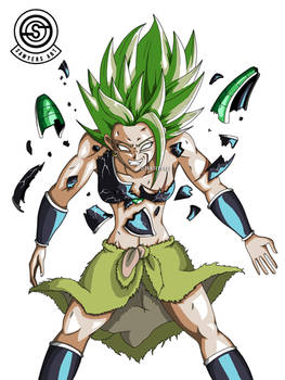 [DragonBall] Kale new Broly outfit destroys armor