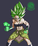 [DragonBall] Kale Ssj in new Broly outfit