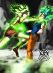 Dragon Ball Super - Kale VS Son Goku