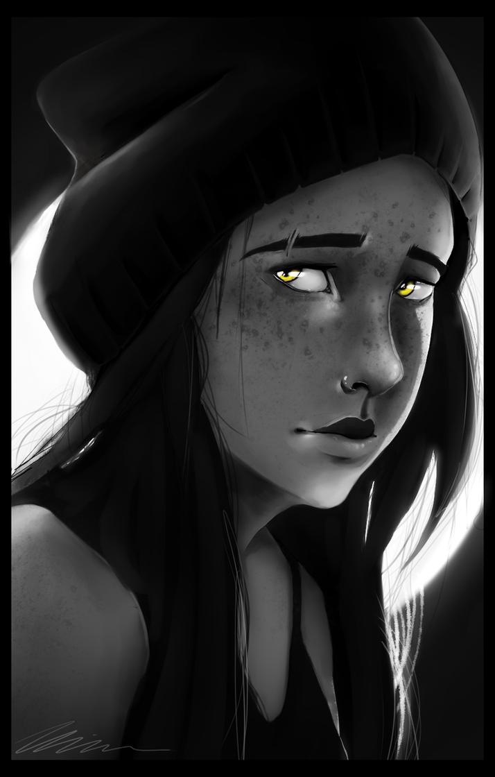Aria Valentine (Portrait #2) by xFatedDestinyx