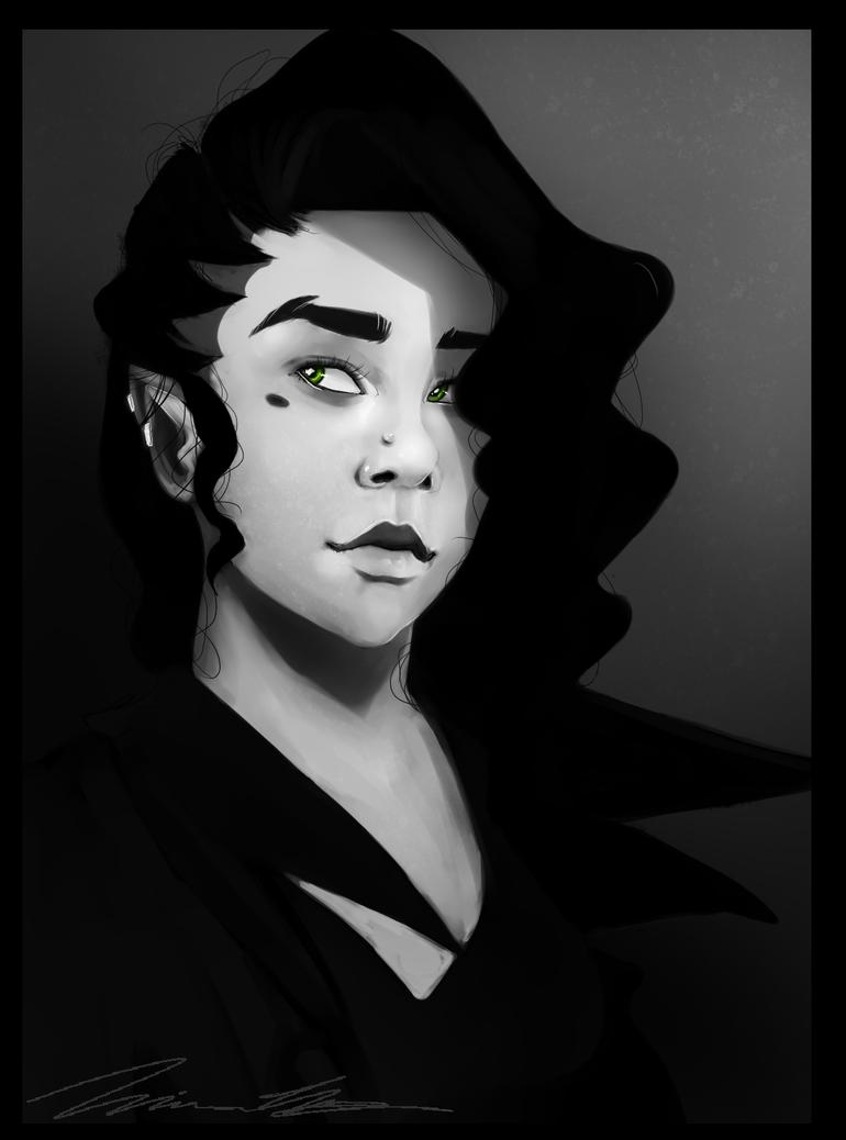 Desirae Ito (Portrait #1) by xFatedDestinyx