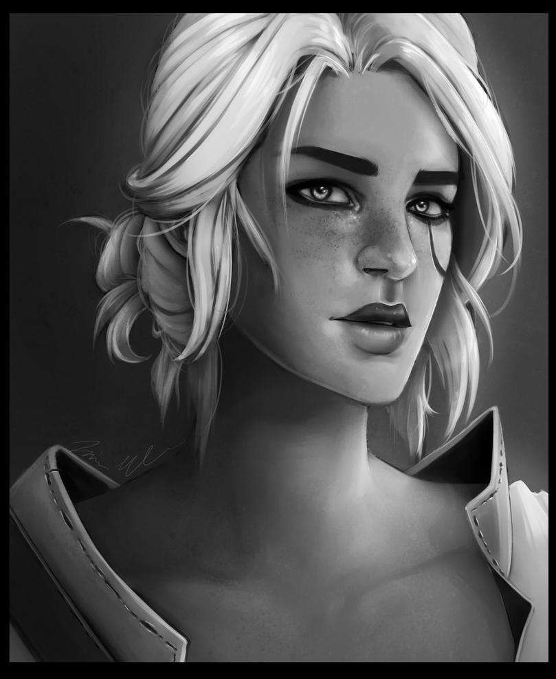 Ciri [Witcher 3] by xFatedDestinyx
