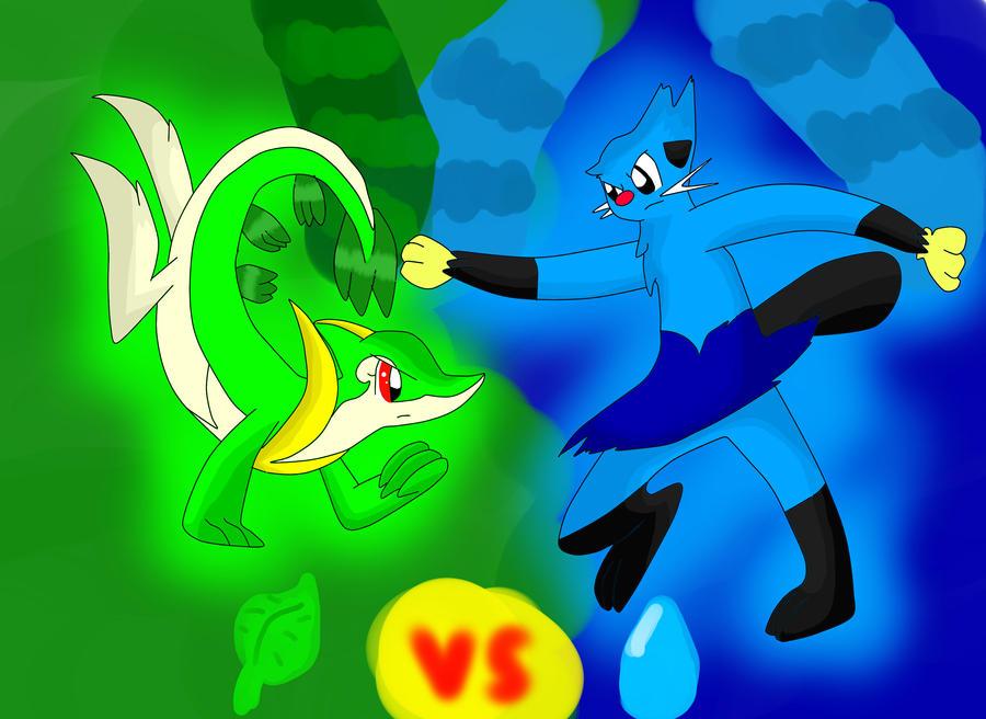 Dewott And Servine Pokemon Servine Images...