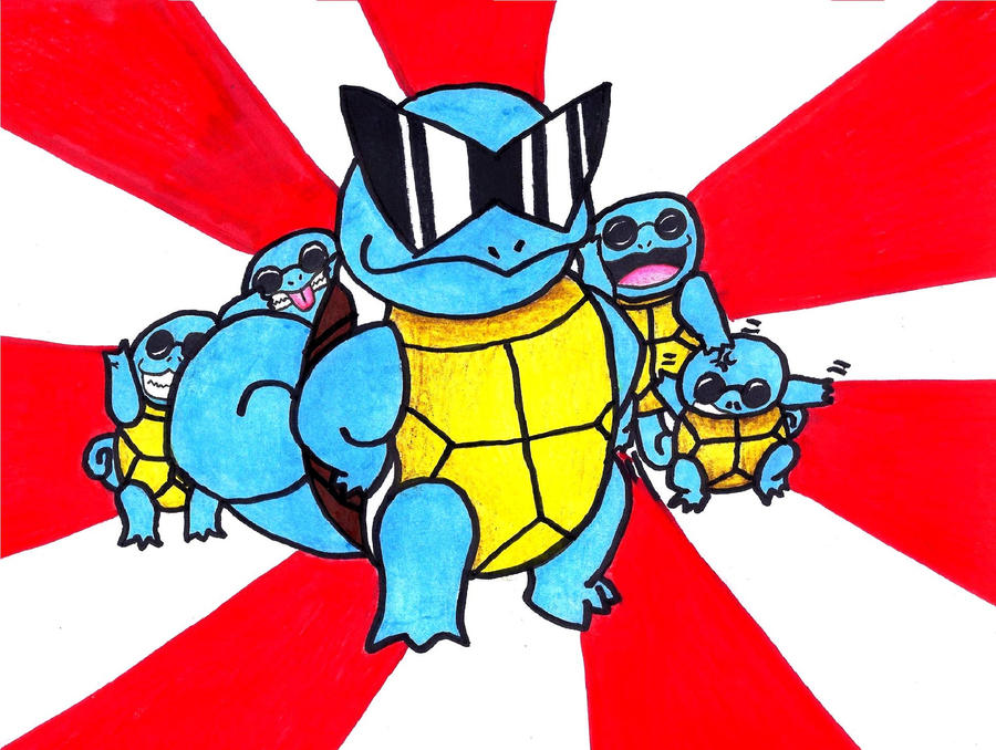 Squirtle Squad Wallpaper