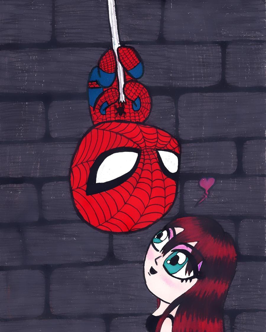 Cute Spiderman Chibi Chibi Spiderman And