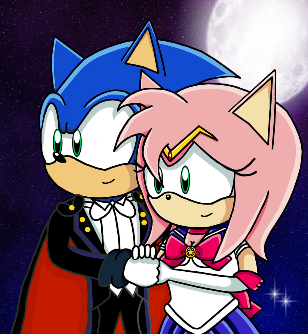 Sonic and Sailor Moon Crossover (Improved) by CallieMacN