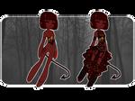 [CLOSED]VK: Halloween Adopt 02 | DEVIL