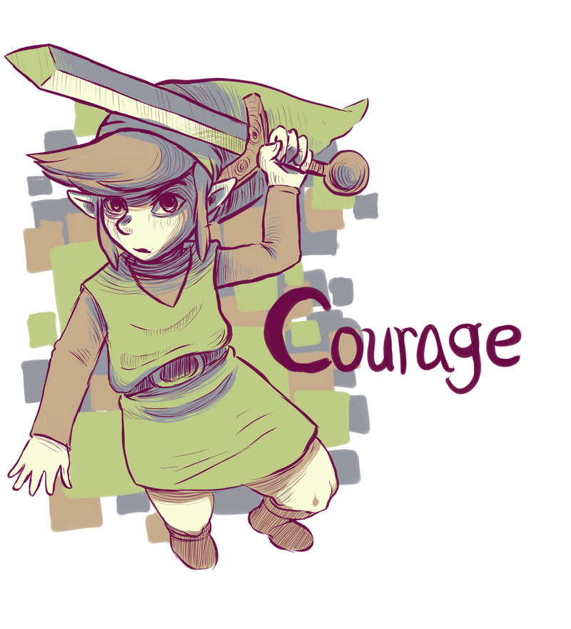 Courage by ApplFruit