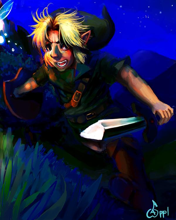 Hyrule Night by ApplFruit