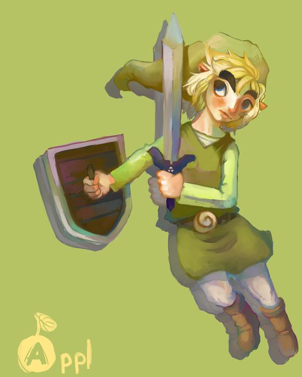 Toon Link by ApplFruit