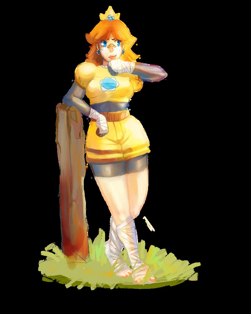 Fighter Daisy by ApplFruit