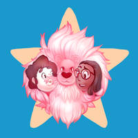 Steven Universe Design Contest 2 Fluffy Pink Mane by Zeighous